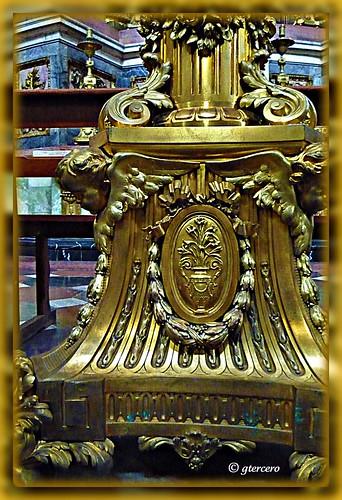 Candelabro, Catedral de Puebla,Pue.,México. P1060235