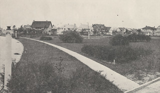 Bedford Park, now known as Triangle Park, 1918