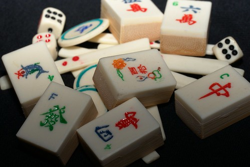 "mah jongg tiles | by Kristin ""Shoe"" Shoemaker"