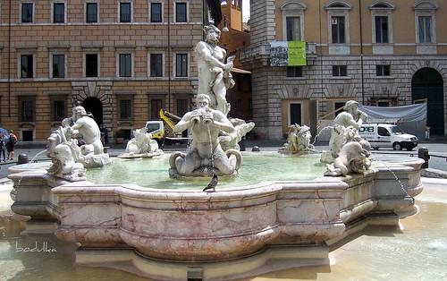 Fontana del Moro   by bodulka