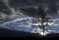 Dark Clouds Hanging In The Sky VI