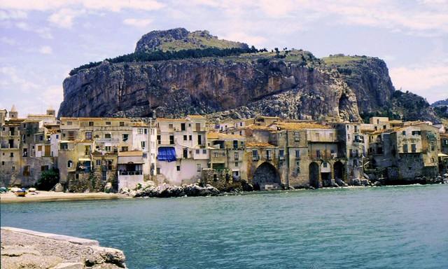 Sizilien - Cefalu mit Rocca, 8492a