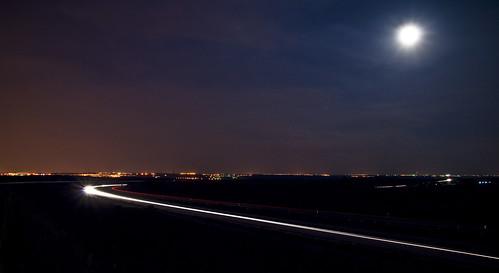 Radial 5 at night