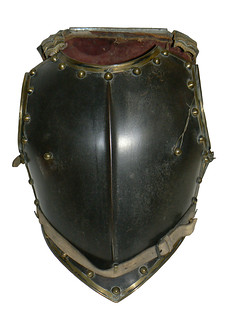 Cavalry Cuirass - Chest and Back Plate - Produced in France or German States - Mid-19th Century (44x35.5cm) | by Lichfield District Council