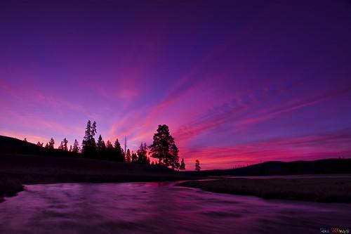 usa sunrise dawn us yellowstonenationalpark yellowstone wyoming hdr aplusphoto