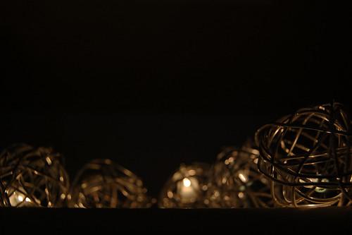 light shadow black dark lights wire nikon shadows dof bokeh balls christmaslights depthoffield wires dim