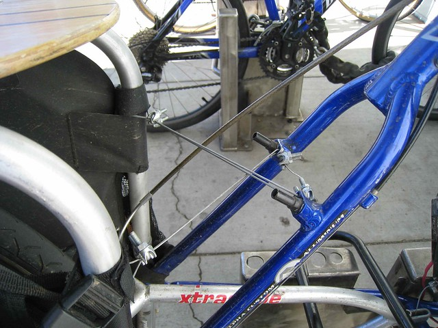 stiffening cables for xtracycle frame