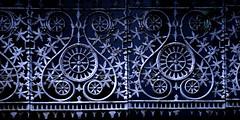 decorative iron work fence by Creativity103