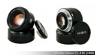 Minolta 50mm ƒ1.4 RS (1990)