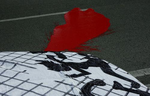 protesta per la morte di Mabruka