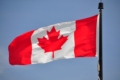 Drapeau canadien - Canadian flag