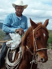 Vaquero - Cowboy; entre Milpillas de la Sierra y Jiménez de Teul, Zacatecas, Mexico