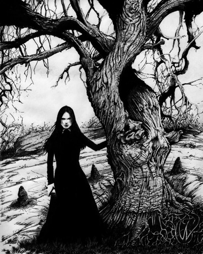 salem witch tree | by monster mansion