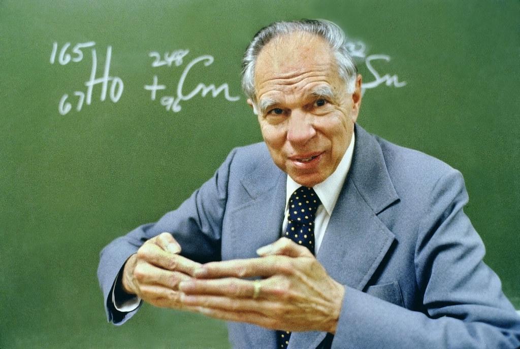 Glenn T. Seaborg - Nobel Laureate