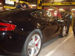 Pulir coche. Aston Martin Vantage