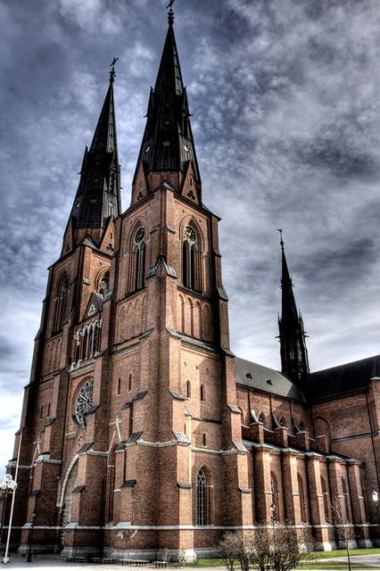 Uppsala Cathedral. Catedral de Uppsala