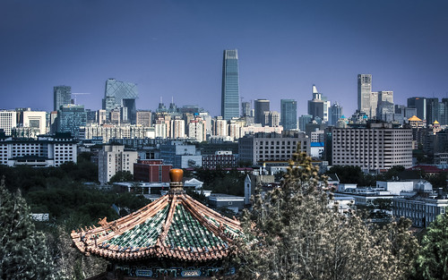 Beijing Skyline from Jingshan Park | by Sarmu