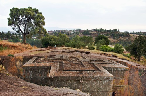 The Roof Crosses, Bet Giyorgis, Lalbela, Ethiopia | by A.Davey