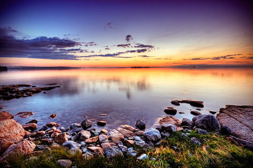 ocean blue lighthouse sunrise bay nikon rocks hill maine moe brooklin hdr seasmoke d300 sigma1020mm 5xp naskeag moe76