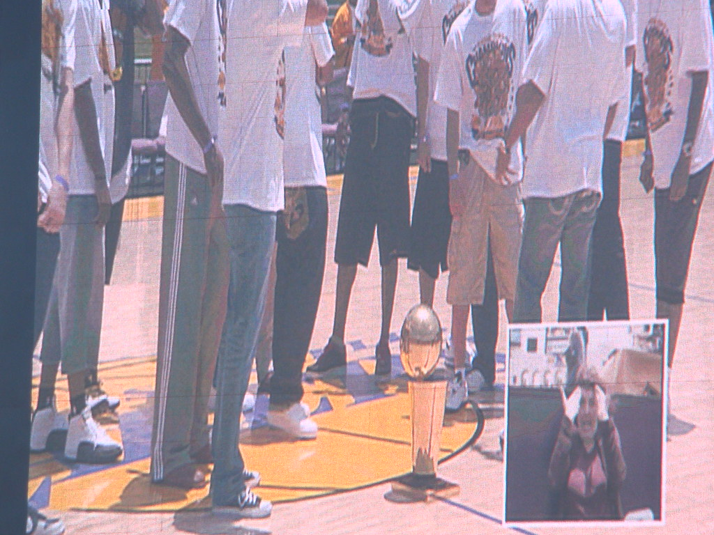 Lakers Championship Celebration