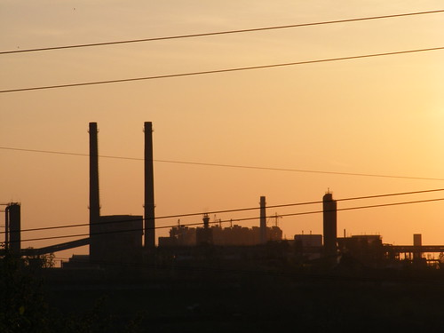 sunset romania galati