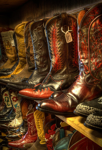 Cowboy Boots (Exhibition Crop) | by DaveWilsonPhotography