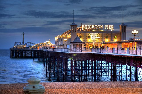 Brighton Pier at Sunset | by Mick the Miller
