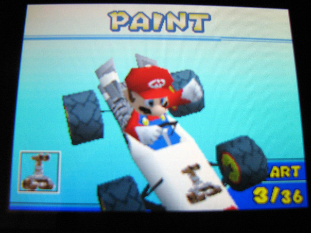 My New Emblem In Mario Kart Ds Matt De Lanoy Flickr