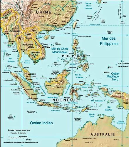 Carte Asie Est.Carte De L Asie Du Sud Est Carivaud Flickr