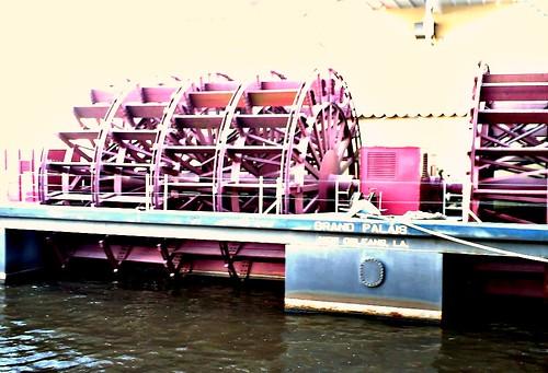 Grand Palais Paddlewheel from NOLA