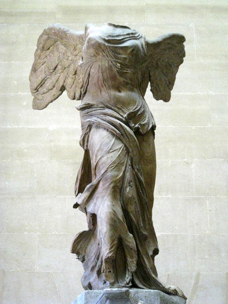 Winged Victory Of Samothrace Louvre Nike Of Samothrace