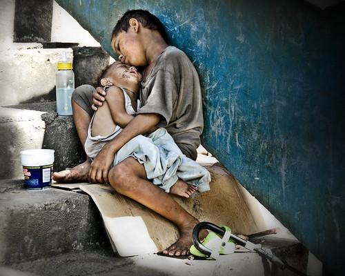 Street children of the Philippines by Mio Cade