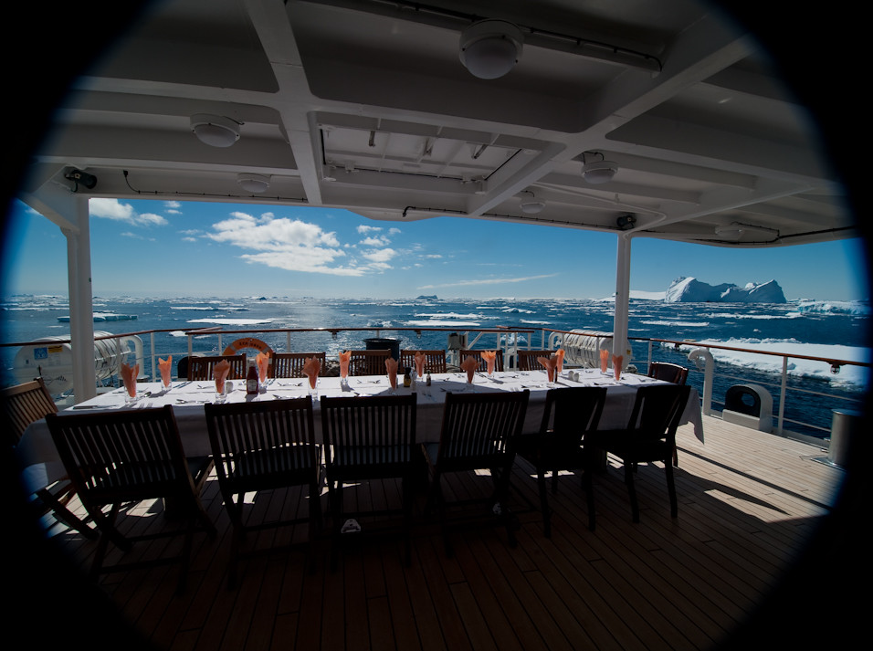 Antarctic Outdoor Dining