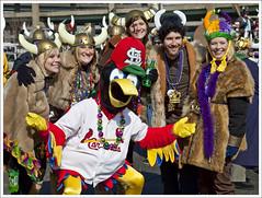 2009 Mardi Gras Parade 38 (Fredbird and Vikings) | by bobcrowe_com