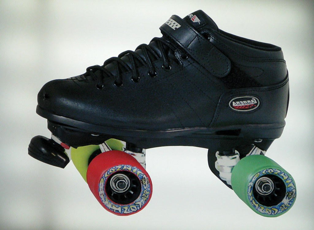 Shoes That Have Roller Skates At The Bottom