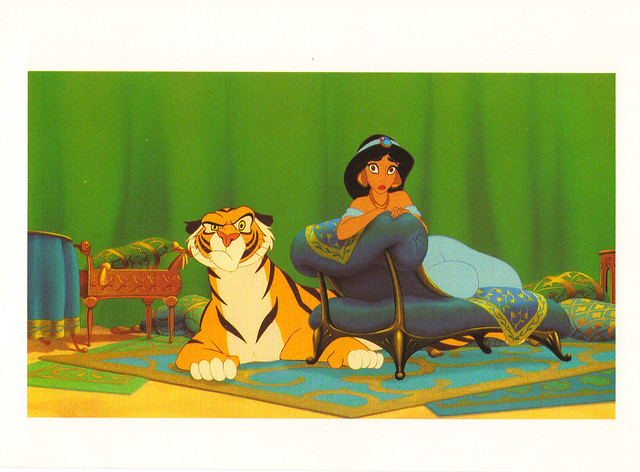 Disney Aladdin Jasmine Postcard
