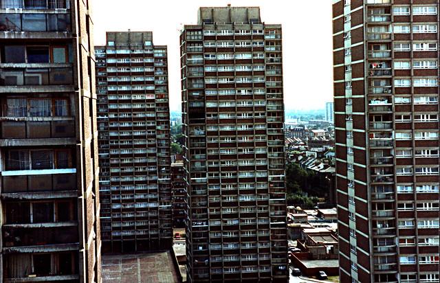 Nightingale Estate Hackney late 80s