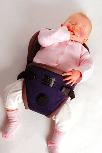 bushbaby cocoon baby carrier