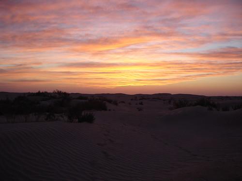saharan sunset | by house