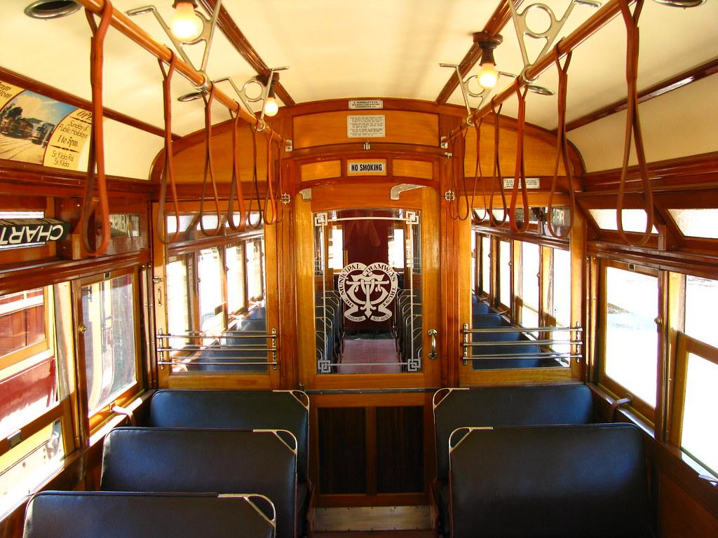 Inside Glenelg tram 360 by baytram366