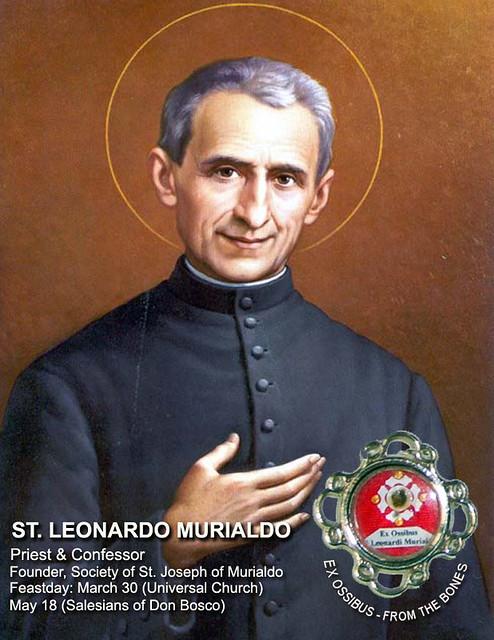 St. Leonardo Murialdo relic | Work of the Saints Apostolate | Flickr