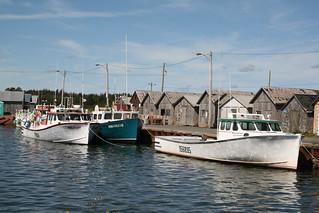 harbour, eastern Prince Edward Island, Canada