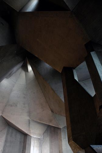 gottfried böhm, pilgrimage church, neviges 1963-1972   by seier+seier