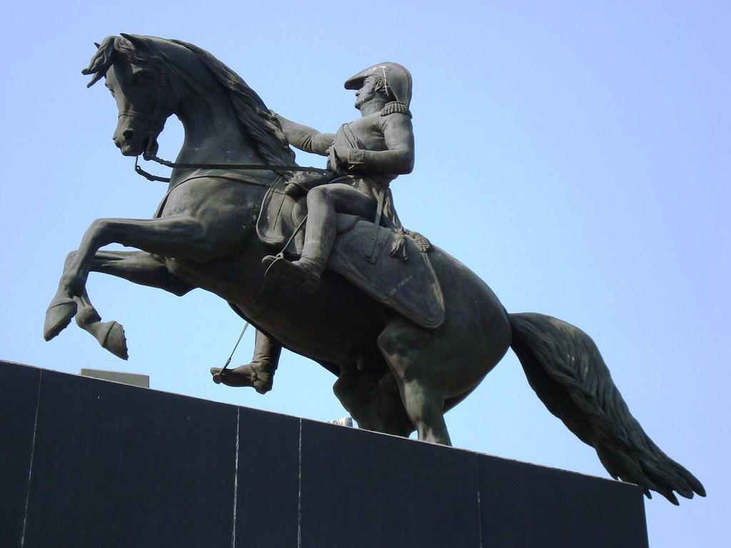Ecuestre del General José de San Martin,Ciudad de México