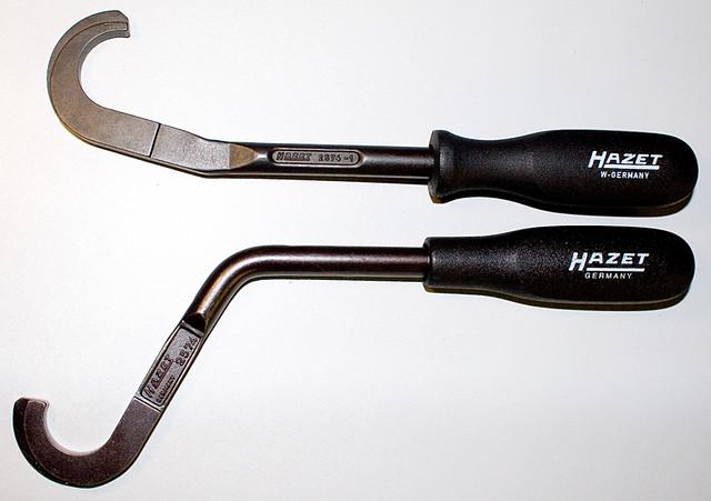 Hazet 2574-1 and 2574 | Valve tappet depressors, for the rem… | Flickr