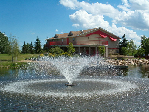 Fountain at By the Lake Park - Wetaskiwin | by wetaskiwin.tomorrow