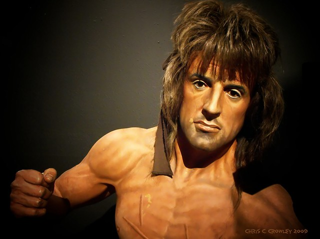 Rambo in Wax