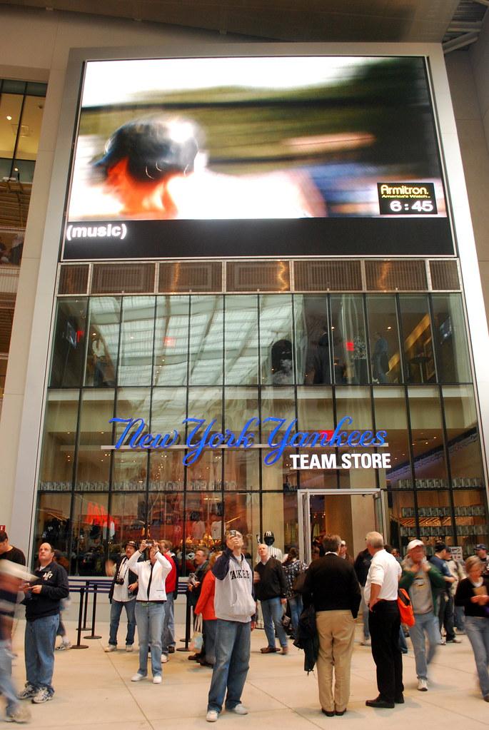 quality design 2d41c ad1f3 Yankees Team Store At The New Yankee Stadium - Bronx, NY 2 ...