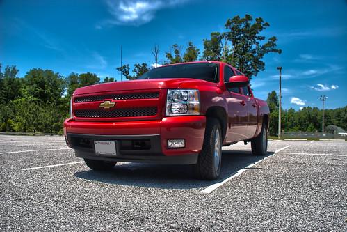 red truck chevy hdr richmondva z71 busterfrith