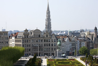 Mont des Arts Area Of Brussels | by infomatique
